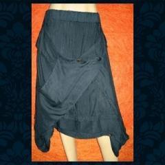 Gonna o pantalone in cotone, stile etnico