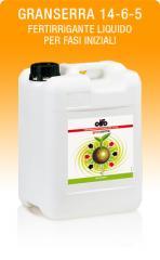 Granserra 14-6-5 (Fertirrigante liquido per fasi