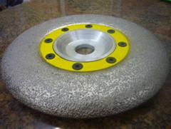 Disks diamond circles for a stone