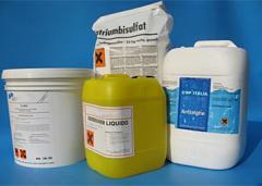 Chemicals for swimming pools