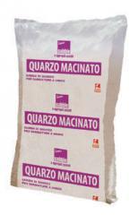 Ground quartz