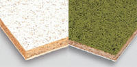 Mineral blocks for suspended ceiling
