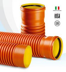 Polypropylene sewer pipes