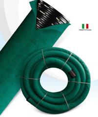 Polyethylene drainage pipes
