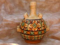Decorative Hand-made Flask