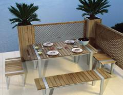 Tavolo e panca Elegance