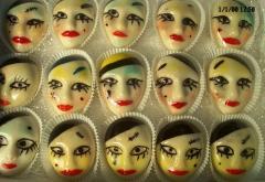 Marcipánbol készitett figurák