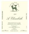 """Vino Dolcetto d'Alba """"A Elizabeth"""" DOC 2009"""