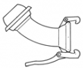 Connecting pipes for filters