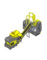Impianto per trattamento cavi auto 3000T-CL