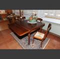 Set tavolo e sedie in rovere