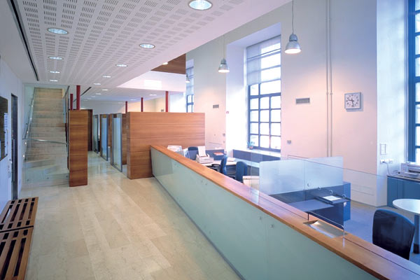 Ordine Reception ufficio