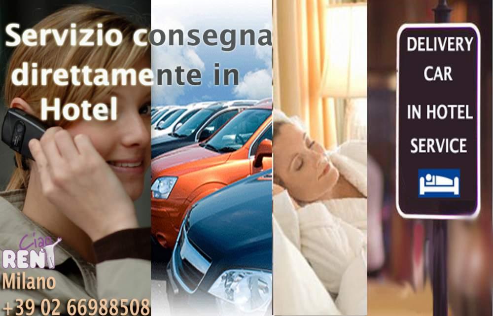 Ordine Consegna in Hotel Milano