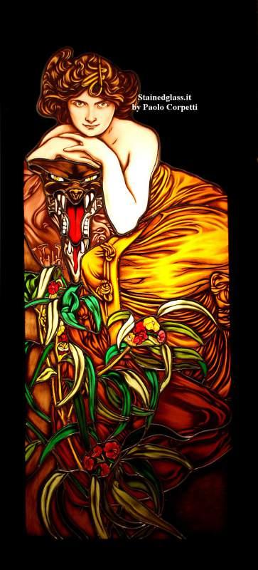 Ordine Vetrata artistica stained glass