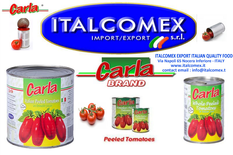 Ordine Italcomex sells the best Italian canned tomatoes and vegetables