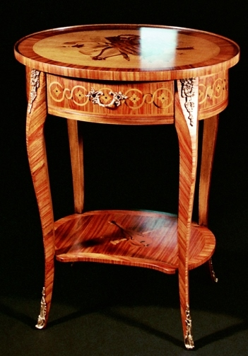 Ordine Production inlaid luxury furniture