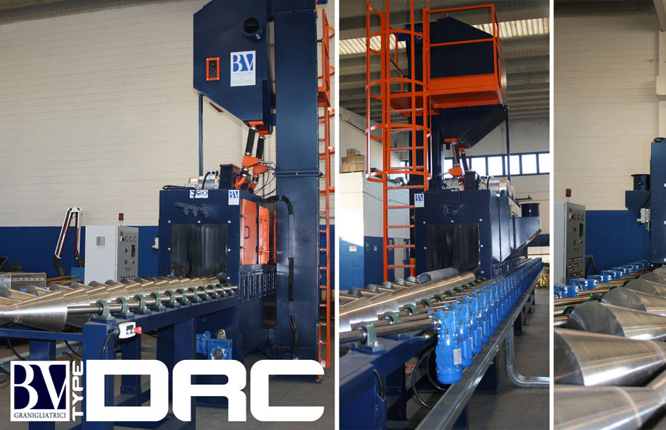 Ordine Shotblasting machines and shot blasting equipment