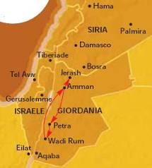 Ordine Petra e il Mar Morto