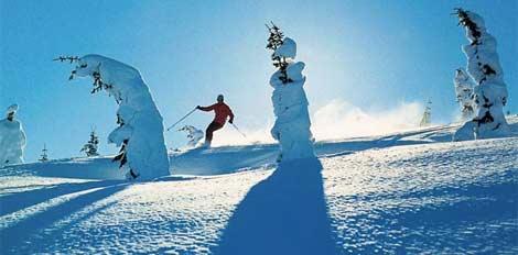 Ordine Sciare nell'ovest canadese
