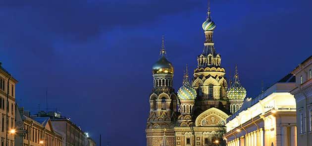 Ordine Russia: San Pietroburgo speciale Natale, Capodanno, Epifania