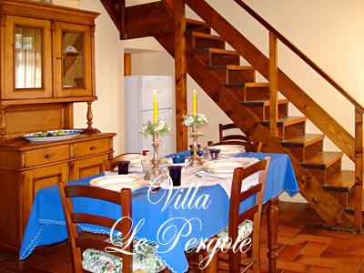 Ordine Appartamenti vicino Firenze, Villa le Pergole