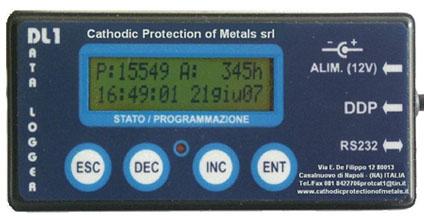 Ordine Data Logger - registratore per tensione e corrente di protezione