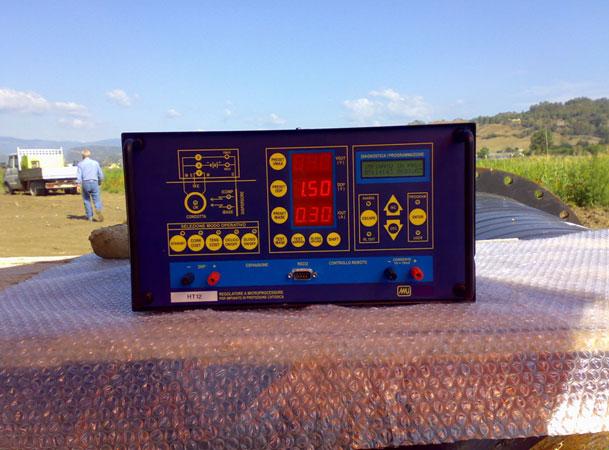Ordine Misure in protezione con impianto provvisorio da campo