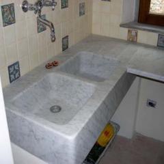 Lavello in marmo