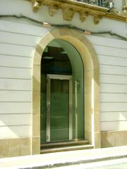 Rivestimento portale di ingresso