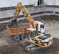 Lavori di scavo, demolizione, lavori in economia