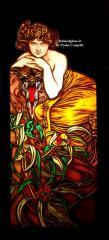 Vetrata artistica stained glass