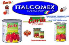 Italcomex sells the best Italian canned tomatoes and vegetables