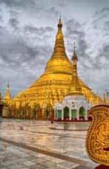 Birmania. La Pagoda d'oro