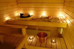 Vendita arredamenti per saune