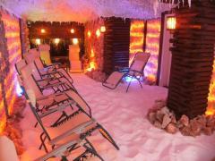 Construction of salt rooms